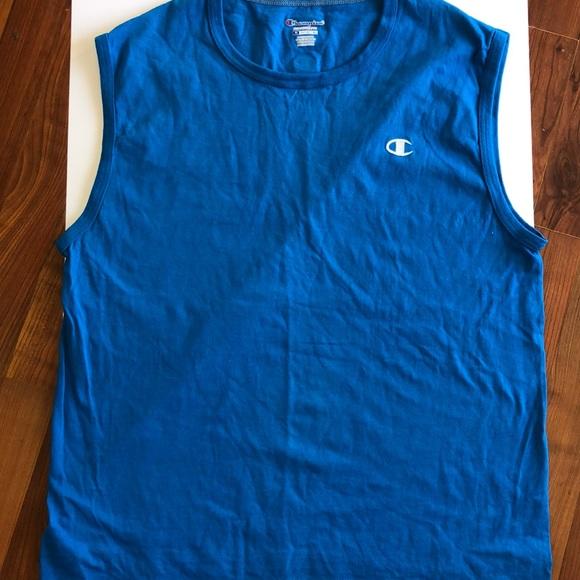 🌞NWOT-vintage- Champion sleeveless men's shirt